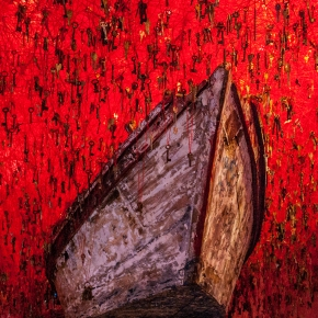 "CHIHARU SHIOTA EN LA 56 BIENAL DE VENECIA: ""THE KEY IN THE HAND"""