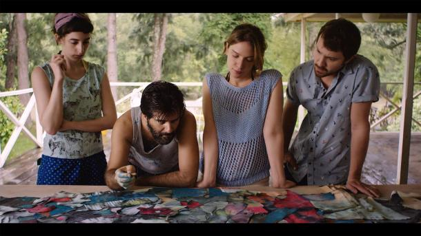 still-of-sam-huntington,-rafael-spregelburd,-andrea-carballo-and-sofía-brihet-in-finding-sofia-(2015)-large-picture
