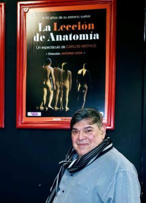 LA LECCION DE ANATOMIA – ENTREVISTA A OMAR PONTI Y AL DIRECTOR ANTONIO LEIVA Por Dra. RaquelTesone