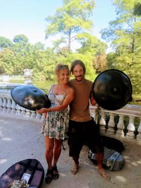 Reportaje a Daniel von Borries: Músico de Handpan.es Por Dra. RaquelTesone