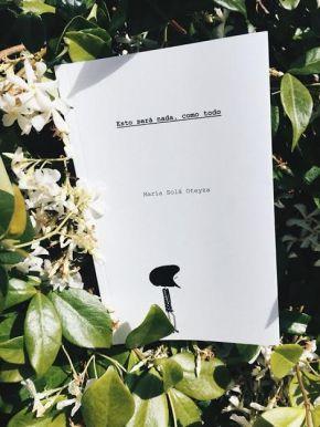 """Reseña del libro de poemas de María Solá Oteyza: """"Esto será nada, como todo"""" – Por FlaviaMercier"""