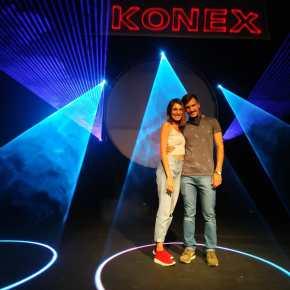 Laser Experience en el Konex – Por Santiago AstrobbiEcahvarri